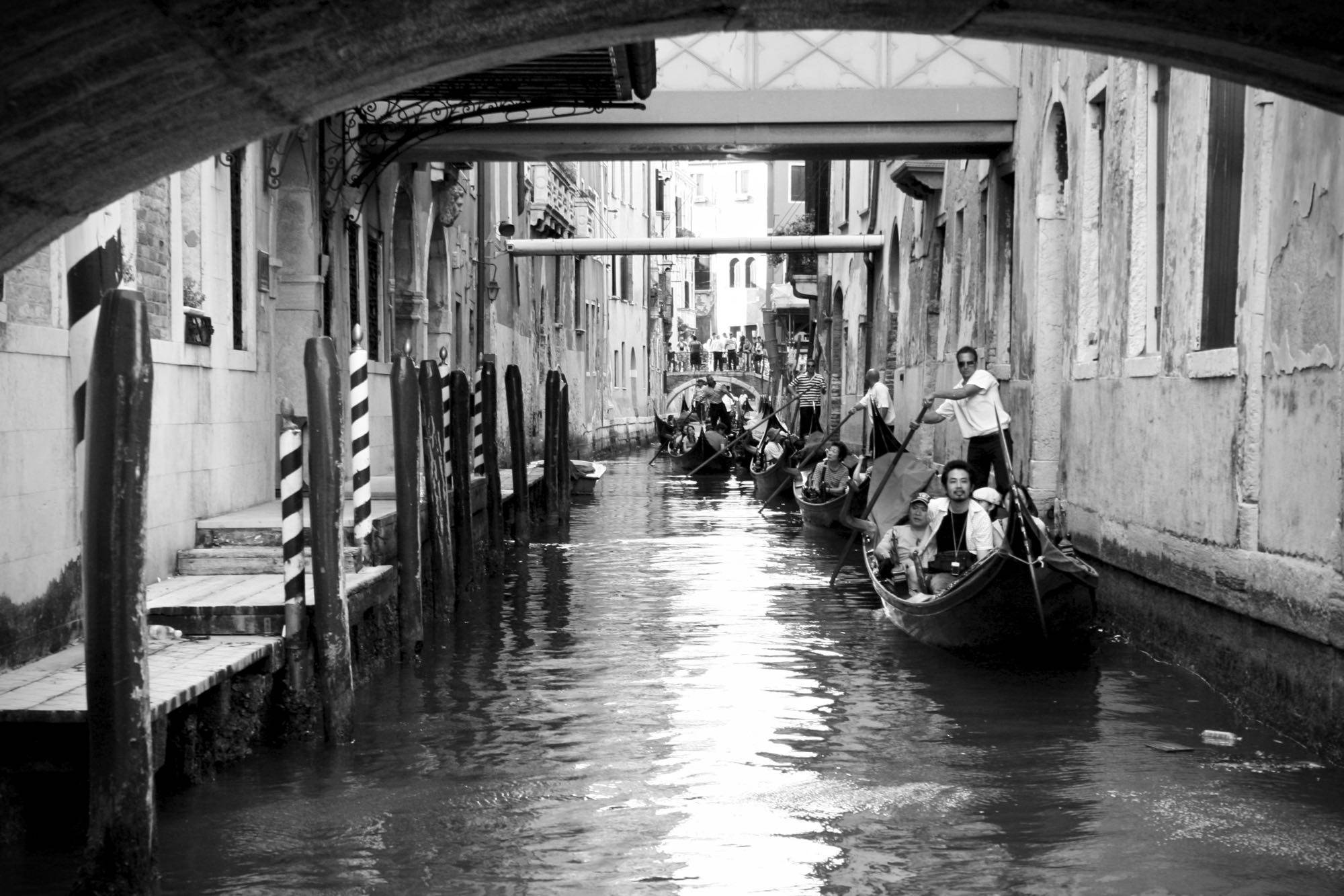 Massimiliano Scarpa_photographer_Canal Grande_gondole_2017 - 1 (1)
